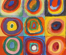 Wassily Kandinsky- Concentric Circles